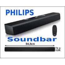 Soundbar Caixa De Som Philips 40w Htl2101 Novo. C/ Garantia