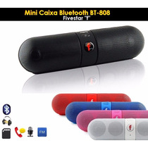 Mini Caixa De Som Bluetooth Beats Pill Portatil Radio Bt-808