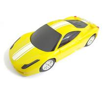 Mini Caixinha De Som Ferrari Portátil Mp3 Micro Sd Usb Fm