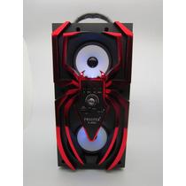 Caixa De Som Speaker Homem Aranha C. Entrada Usb