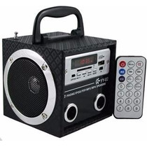 Caixa De Som Yy02 Portátil Mp3 Entrada Usb Pen Drive Radio