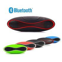 Caixa Som Portatil Bluetooth Speaker Mini Sd Usb Radio Fm P2