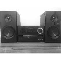 Philips Mcm 3000/78 Som Radio Fm Cd Mp3 Wma Fm Usb Relogio