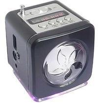 Mini Caixa De Som Usb Com Mp3/ Pen Drive/ Cartao De Memoria