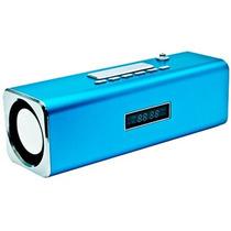 Caixa De Som Pen Drive + Micro Usb + Fm + Cartão De Memoria