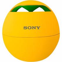 Nova Caixa De Som Wireless Speaker System Srs-btv5 Amarelo