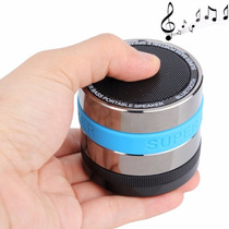 Mini Caixa De Som Bluetooth Mp3 Super Bass Portátil Sd