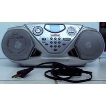 Aparelho Som Portátil Philips Rádio, Fitas, Cd Player