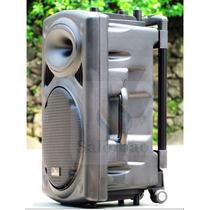 Caixa De Som 450 Rms Com Bateria Interna