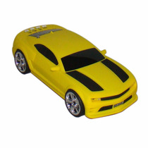 Caixa De Som Camaro Amarelo Miniatura Caixa Som P2 Pen