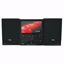Micro System Portátil Philco Ph673 C/ Dvd Player, Tv Lcd De