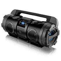 Caixa De Som Boombox 80w Rms Usb Sd Fm Aux Bivolt - Sp163
