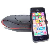 Mini Caixa Som Portátil Amplificado Bluetooth Stereo Alto P2