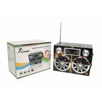 Caixa Caixinha Som Portátil Carro Mp3 Micro Sd Usb Fm