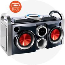 Aparelho De Som Ms-08b Mini System Super Sound Box