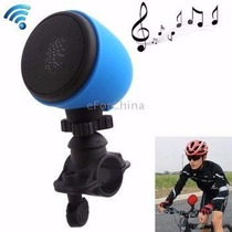 Caixa Som Bluetooth Bike Bicicleta Moto Usb Iphone Lg Galaxy