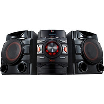 Mini System Lg 520w Rms, Mp3 Duplo Usb Bluetooth Cm4640