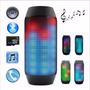 Caixa De Som Tipo Pulse Portátil Bluetooth Led E12