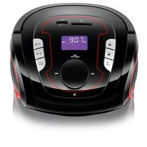 Rádio Relógio Bateria De Lítio Bluetooth Usb Fm Sd 15w Sp186