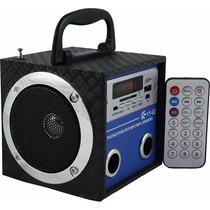 Caixa Som Caixinha Portátil Usb Mp3 Radio Fm Sd Yy02 Yy03