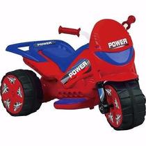 Moto Elétrica Infantil Turbo Power - Vermelho - 20w - Brink+