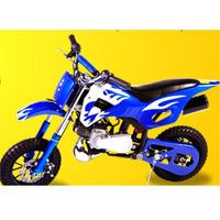 Mini Moto Cross Gasolina 2t 49cc O Mais Top Partida Suave