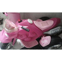 Moto Eletrica Barbie Infantil