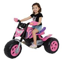 Moto Elite Rosa Xalingo! Mini Moto! Linda! Motinho!