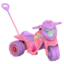 Mini Moto Eletrica Passeio Ban Princesas 6v - Bandeirante