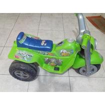 Moto Elétrica Infantil Buzz Lightyear