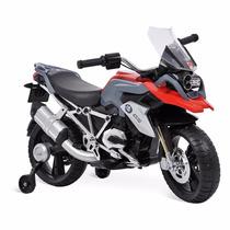 Mini Moto Elétrico Veículo Bmw Gs 12v Bandeirante 2 Motores