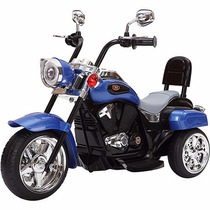 Moto Eletrica Infantil Similar Harley Davidson Suporta 30kg