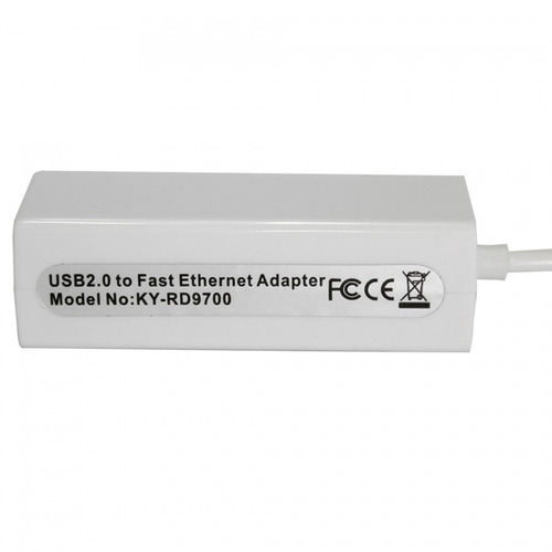 Mini Placa De Rede Usb Ethernet 10/100 Adaptador Rj-45 Usb R