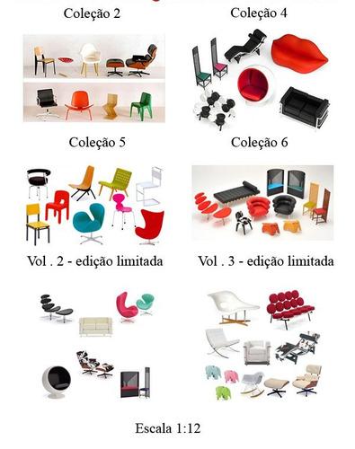 Miniatura Cadeira - Designers Famosos