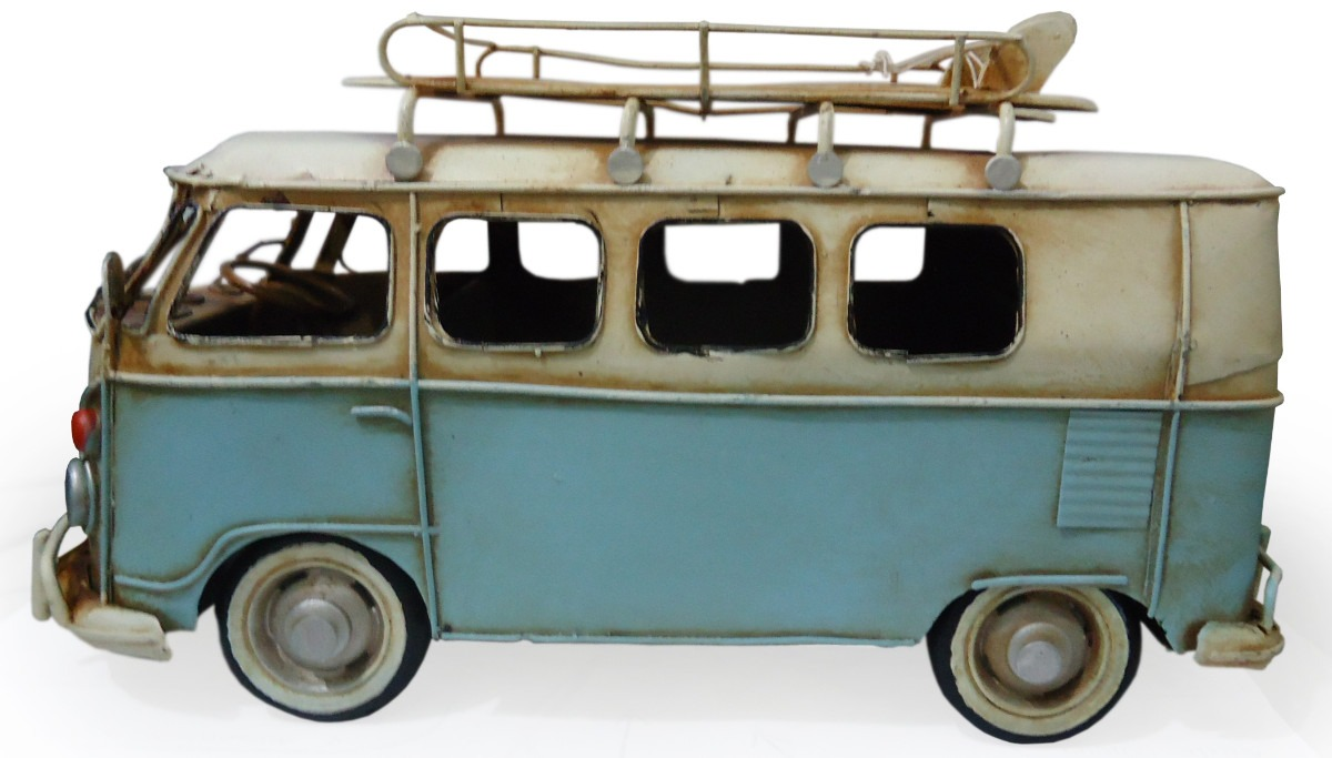 Enfeite De Kombi ~ Miniatura Kombi Antiga Decorativa 18591 R$ 173,50 no MercadoLivre