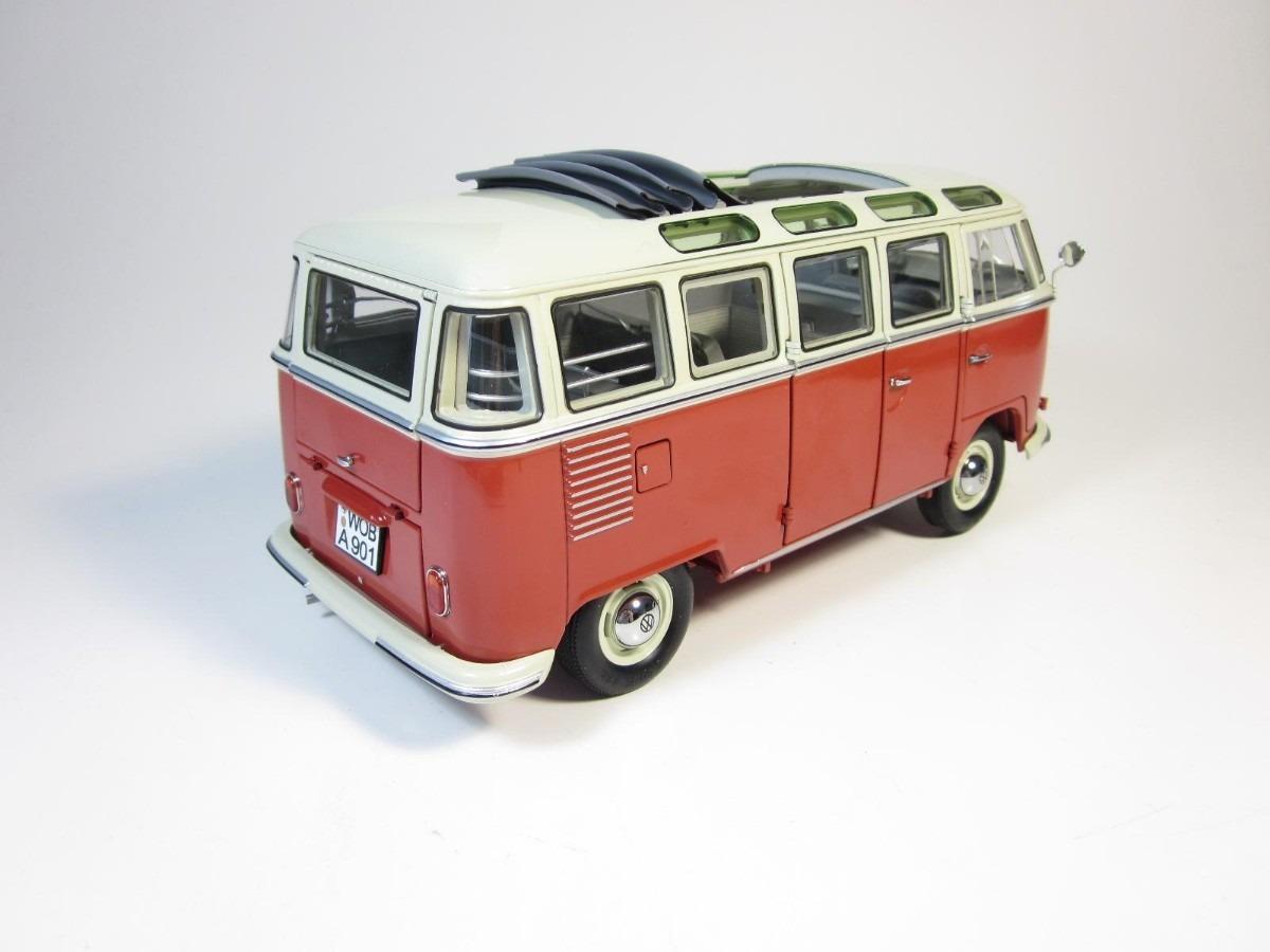 miniatura volkswagen bus kombi t1 samba bus 1 18 schuco. Black Bedroom Furniture Sets. Home Design Ideas