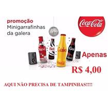 Mini Garrafinhas Da Coca Cola 2015 ***super Oferta****