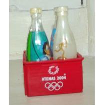 Mini Garrafinha Da Coca Cola Atenas 2004 (preço Unitário)
