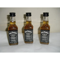 Kit Com 10 Miniaturas Whisky Jack Daniel