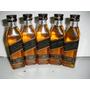 Kit Com 8 Miniatura Whisky Johnnie Walker Black Label