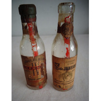 Garrafa Miniatura Bebida Cachaça Propaganda Antiga