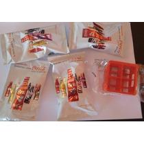Kit 4 Mini Garrafas Da Coca Cola + 1 Engradado ***oferta***