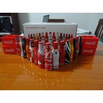 Mini Garrafinhas Coca Cola Da Galera Completa (15 +1 Brinde)