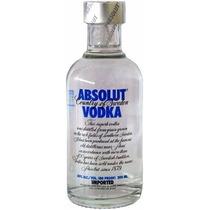 Vodka Absolut Miniatura 200ml Mini Pack C/ 12 Unidades