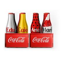 Mini Garrafinha Da Galera Coca Cola Personalizada Frete $7,0