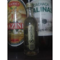 Garrafa Miniatura Cachaca Sagatiba 50ml