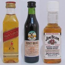 Miniatura Mini Garrafa De Bebidas - 15 Modelos Diferentes