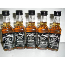 Kit Com 12 Miniaturas Whisky Jack Daniel