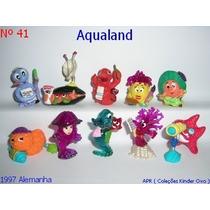 Kinder Ovo - Coleção Completa - Aqualand