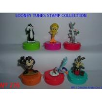 Kinder Ovo - Coleção Compl. - Looney Tunes Carimbo (tomy)